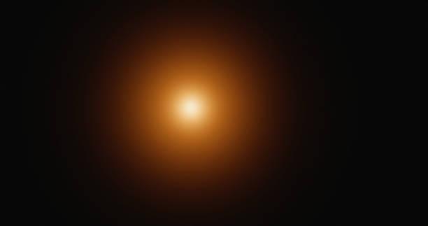 lens flare effect - gloeien stockfoto's en -beelden