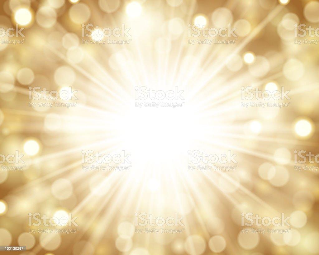 Lens flare light royalty-free stock photo