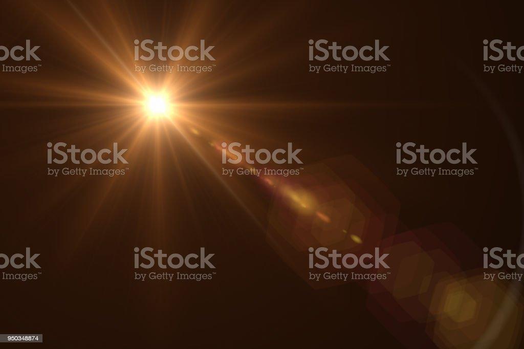 Lens Flare - Zbiór zdjęć royalty-free (Bez ludzi)
