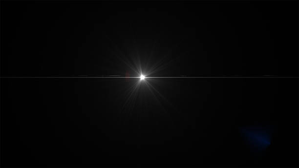Lens Flare Real  Effects - High Resolution Image stock photo