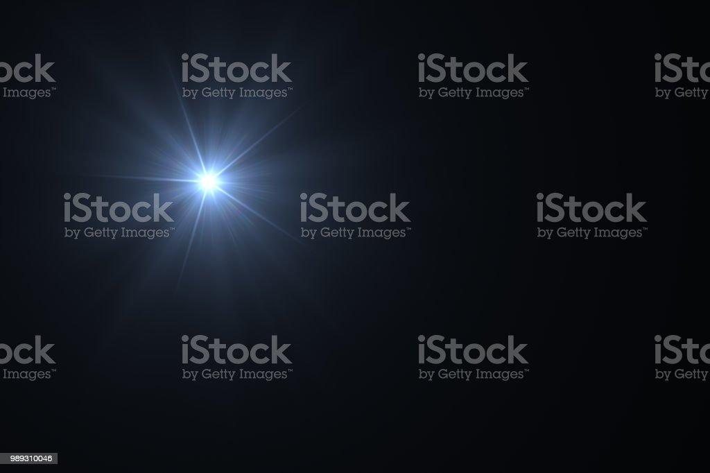 Lens Flare, Sun Light, Solar Energy Concept. stock photo
