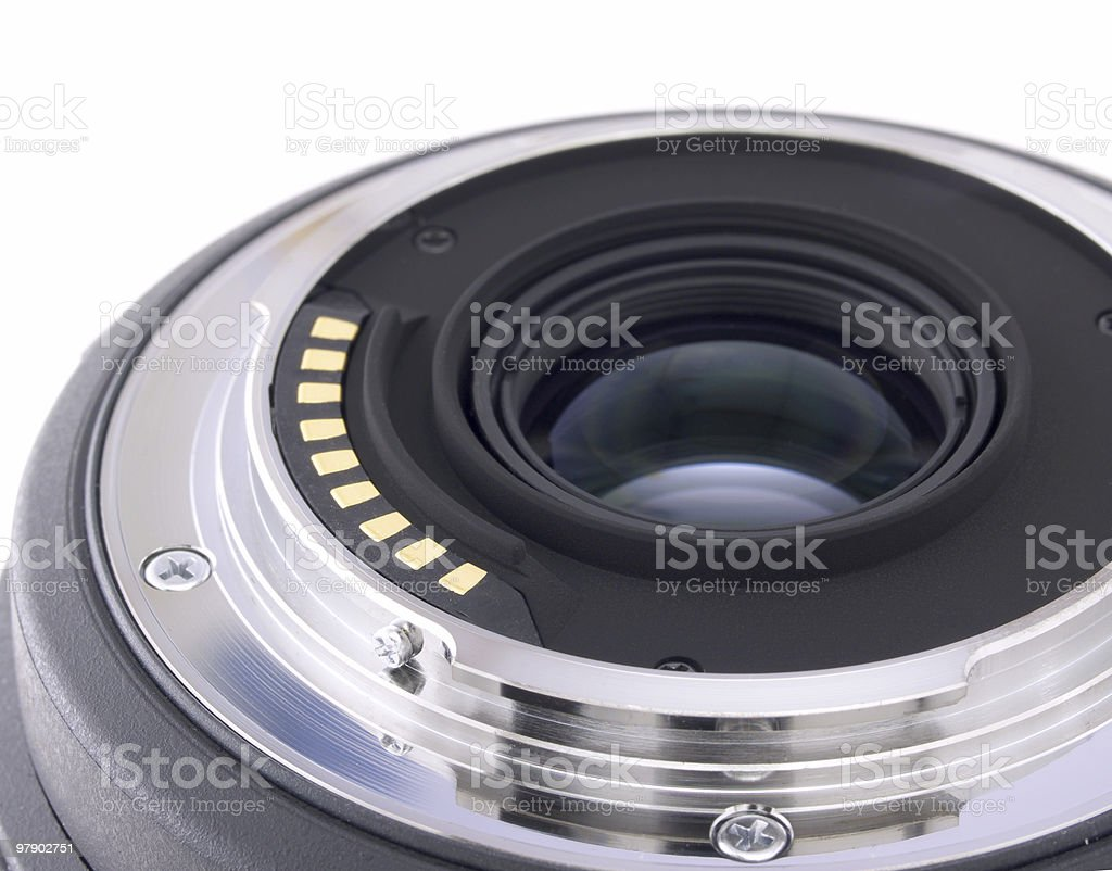 Lens for camera royalty-free stock photo