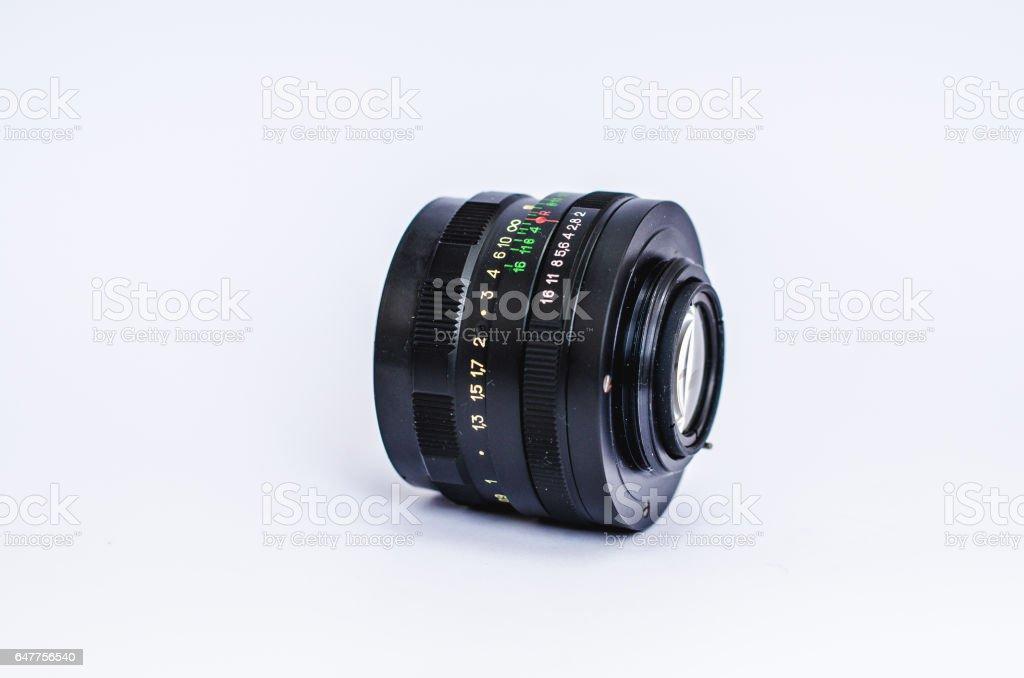 Lens Helios stock photo