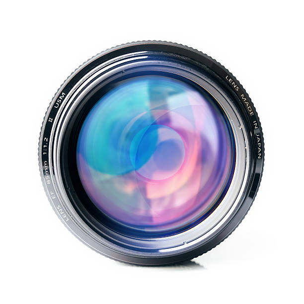 lens - home video camera stock photos and pictures