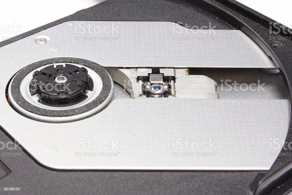 CD Lens royalty-free stock photo