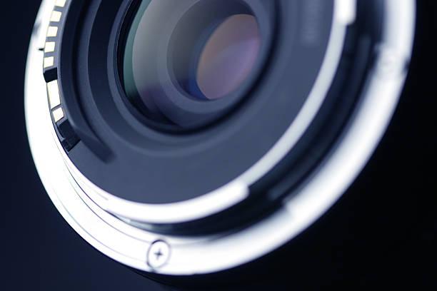 verre optique - convexe photos et images de collection