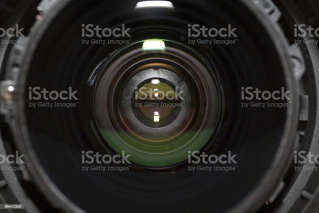 Lens royalty-free stock photo