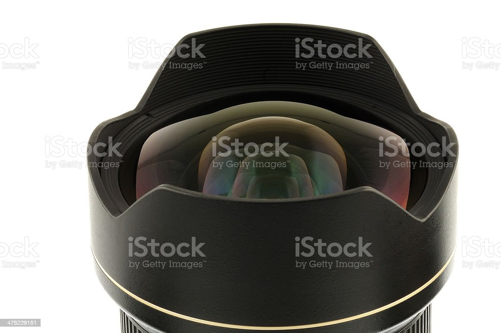 Lens reflex camera with royalty-free stock photo