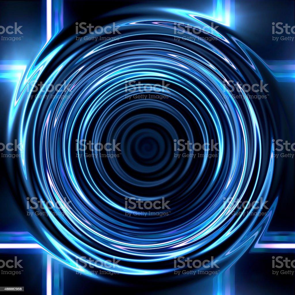 Lens ring flares cross circle stock photo