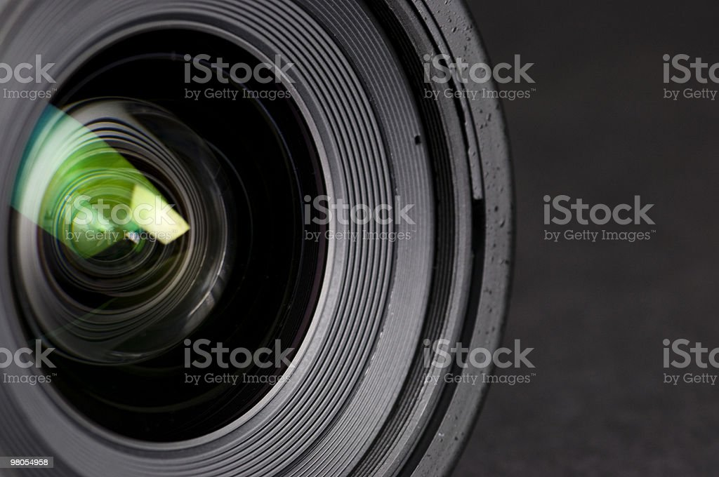 lens with reflections royalty-free stock photo