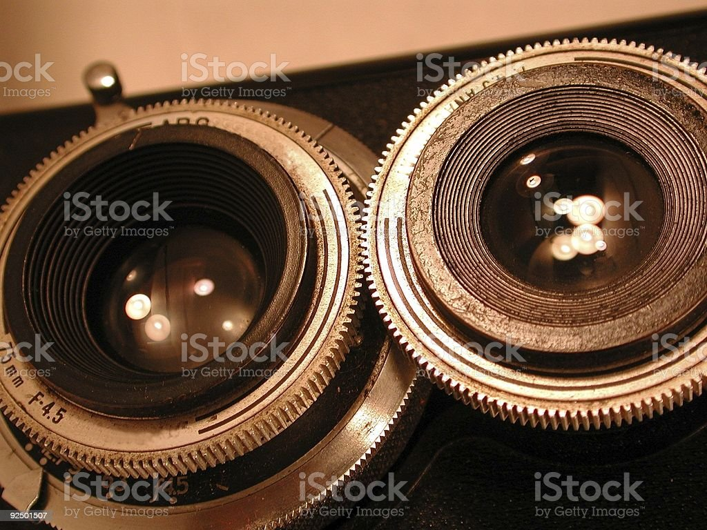Lenses royalty-free stock photo