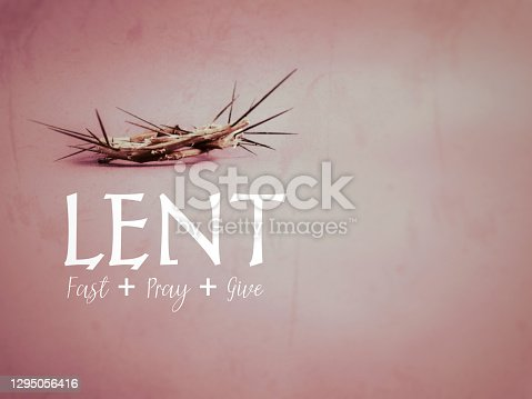 istock Lent Season,Holy Week and Good Friday Concepts 1295056416