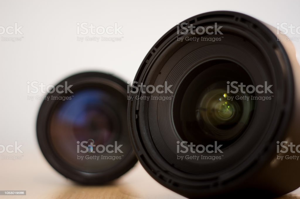Lente gran angular stock photo