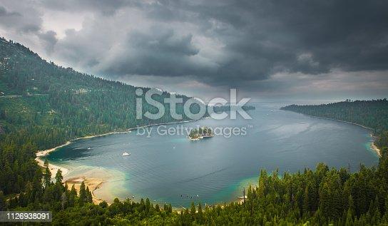 Summer, Island, Lake, Famous Place, Cloud