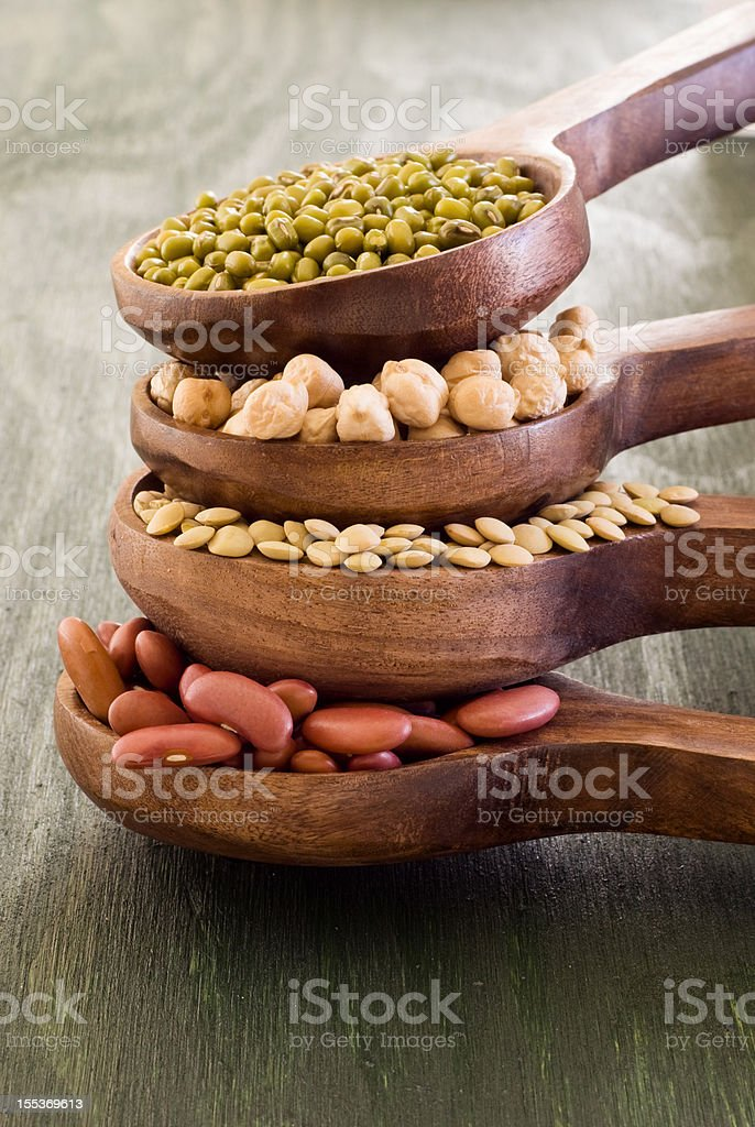 Lentil collection royalty-free stock photo