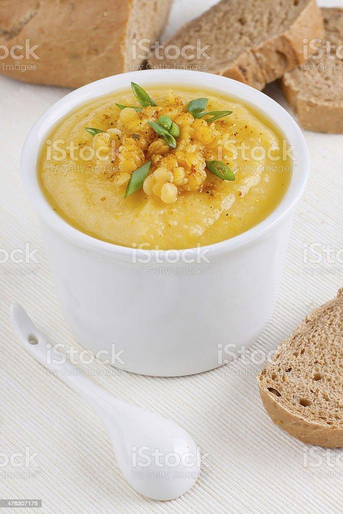 Lentils soup royalty-free stock photo