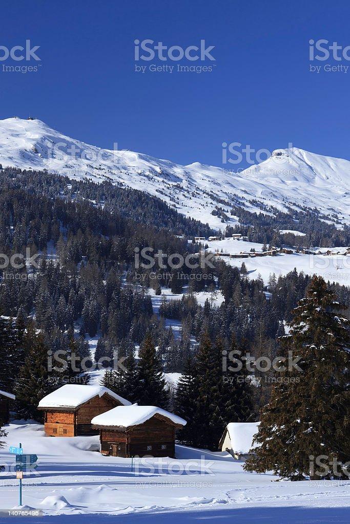 Lenzerheide - Switzerland royalty-free stock photo