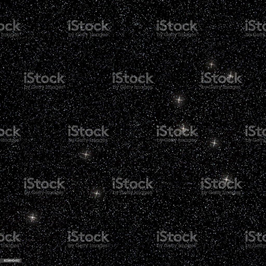 Aslan takımyıldızı stok fotoğrafı