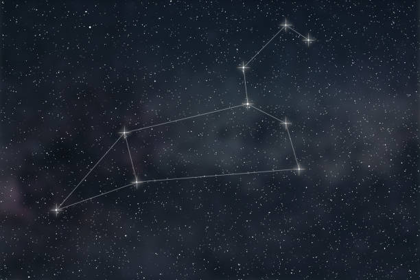 leo constellation zodiac sign leo constellation lines picture