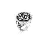 Leo Silver Men Women Ring Jewelry