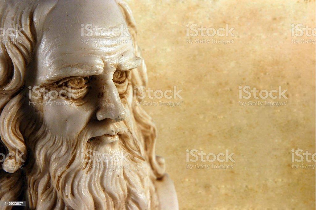 Leonardo da Vinci stock photo