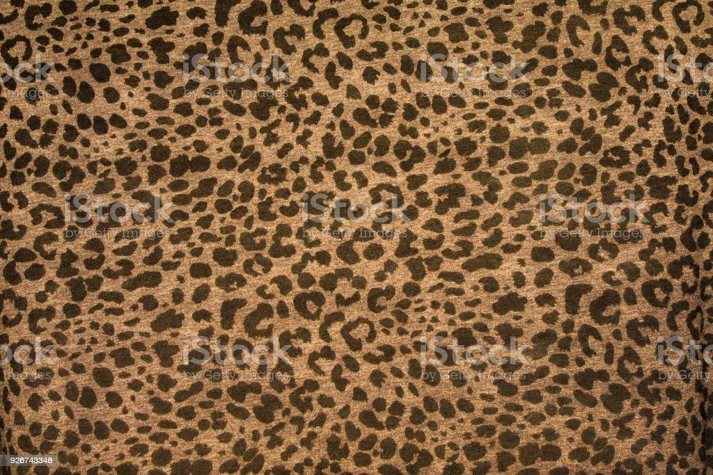 Leopard effect, fabric pattern, Background sample, Wallpaper. stock photo