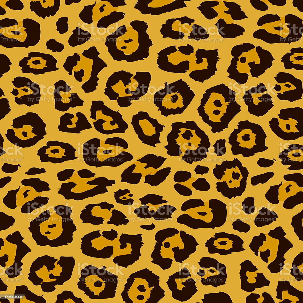 Leopard Pattern royalty-free stock photo