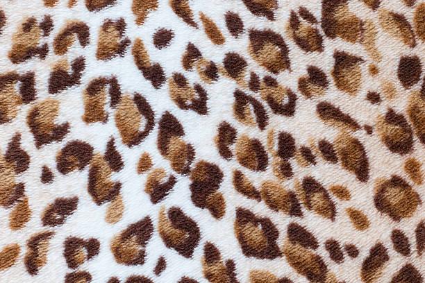 leopardenmuster muster - geparden bettwäsche stock-fotos und bilder