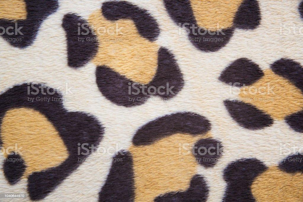 Leopard gemusterten Stoff hautnah – Foto
