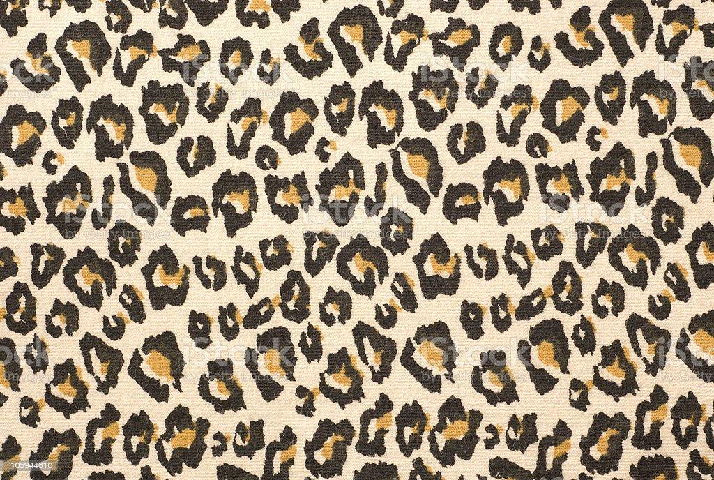 Leopard print textured background stock photo