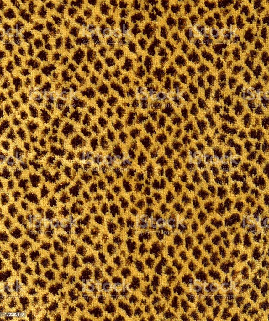 Leopard Skin Fabric stock photo
