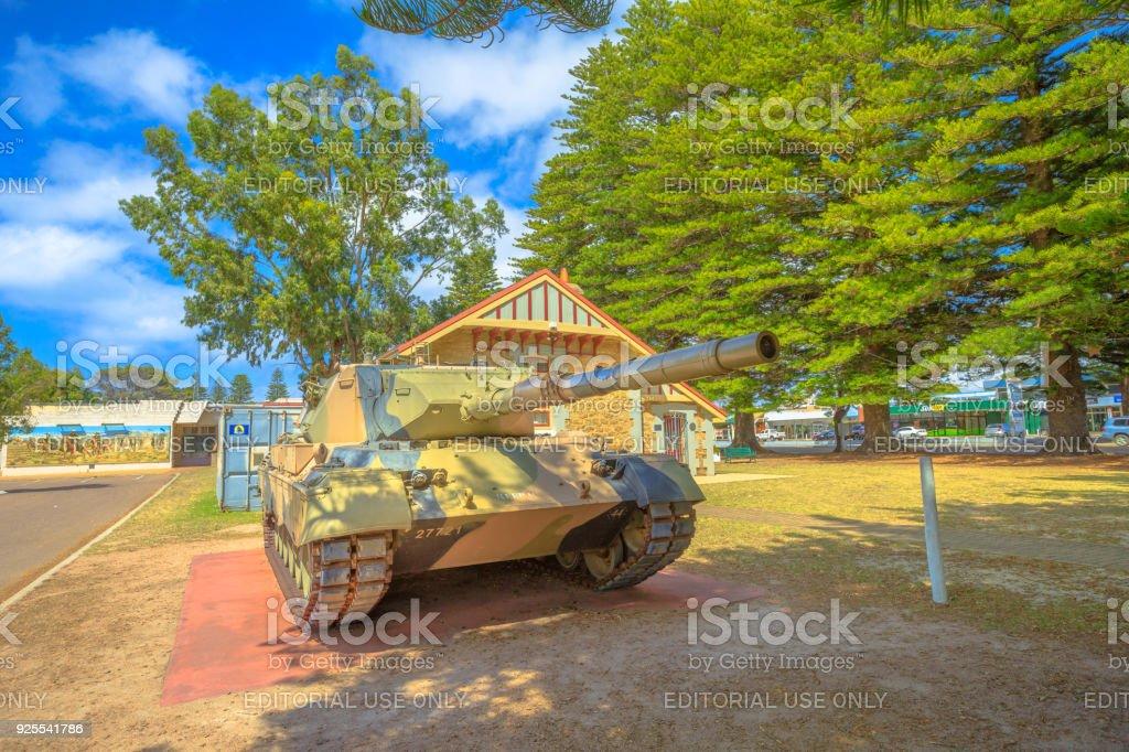 Leopard Tank Australia stock photo