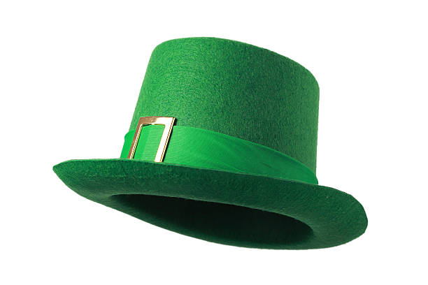 Leprechaun hat stock photo