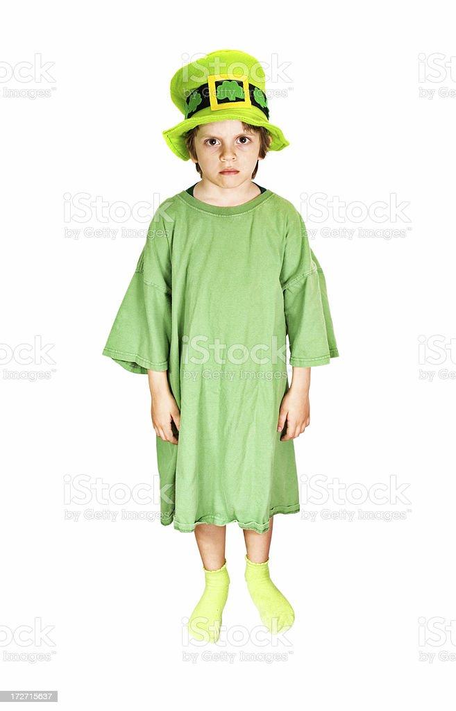 Leprechaun Kid royalty-free stock photo