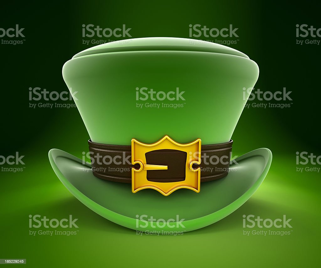 Leprechaun's hat royalty-free stock photo