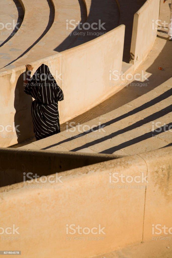 Leptis Magna, Libya stock photo