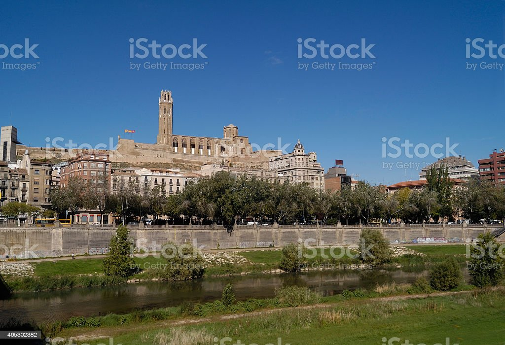 Lerida, Catalonia,Spain stock photo