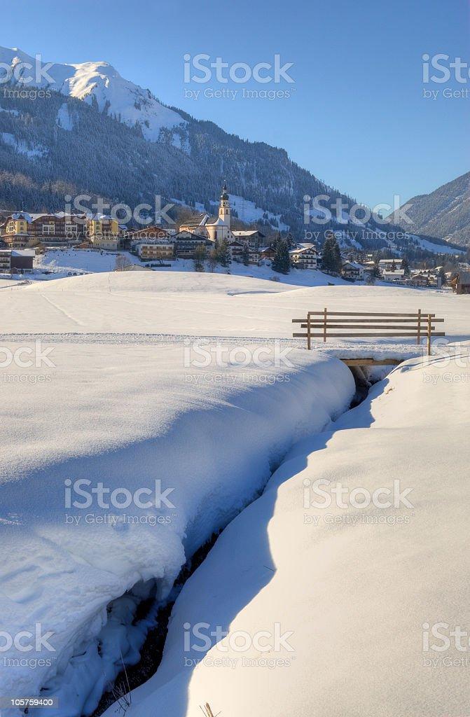 Lermoos in Tyrol royalty-free stock photo