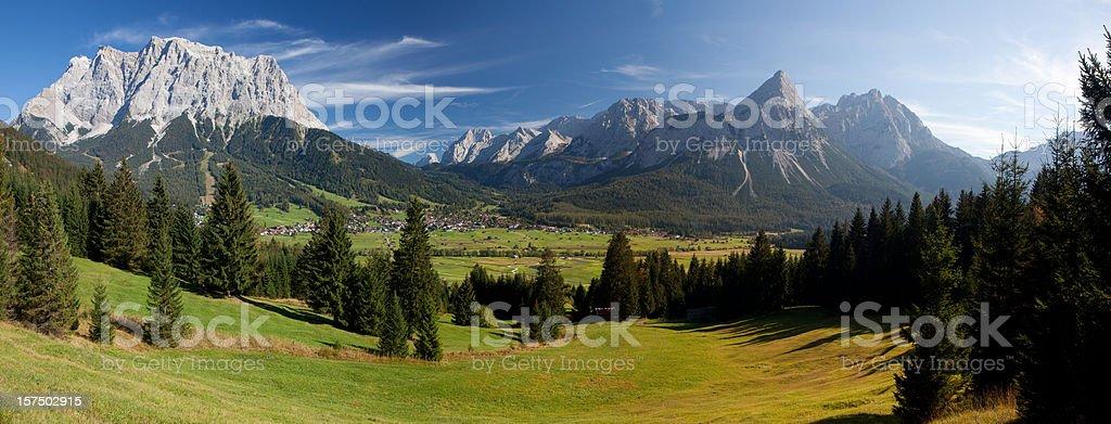 lermoos panorama stock photo