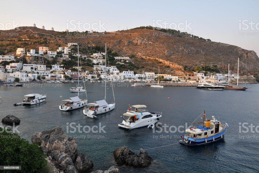 Leros Island. The greek island. royalty-free stock photo