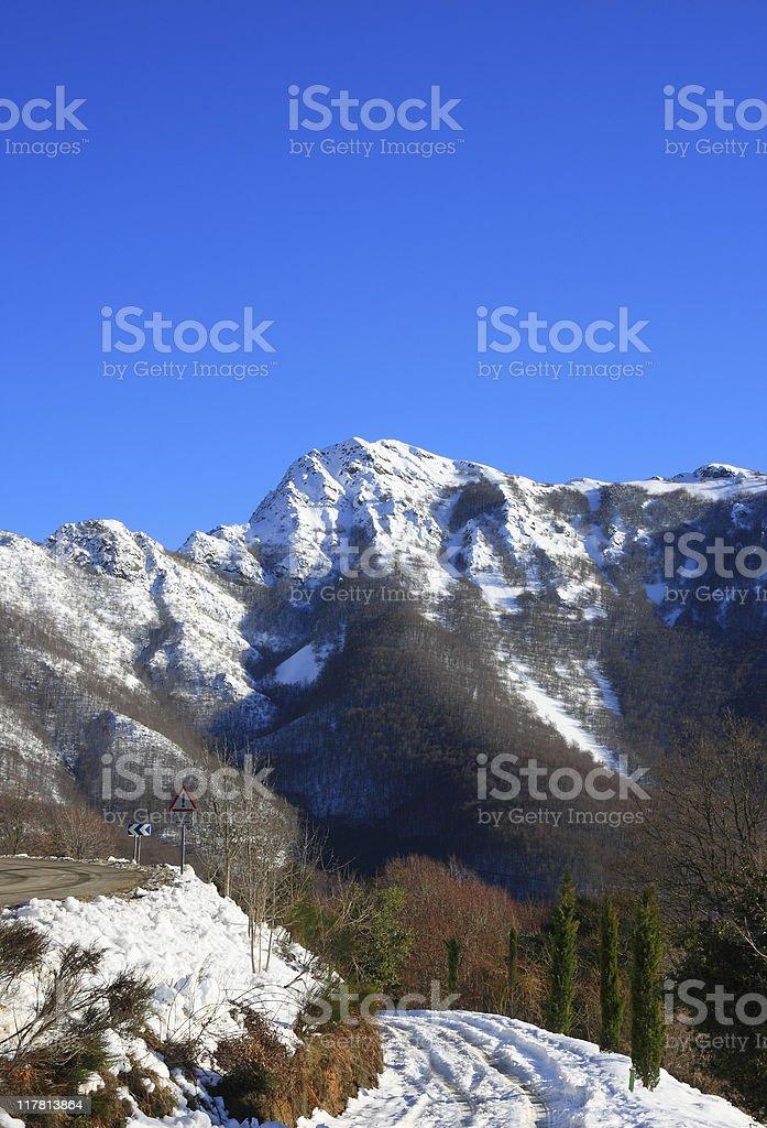 Les Agudes (Montseny, Catalonia, Spain) stock photo