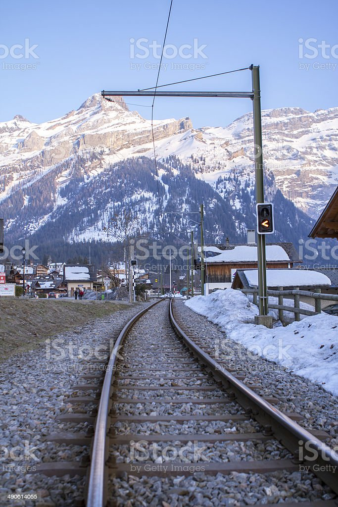 Les Diablerets stock photo