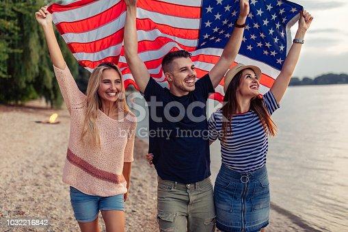 istock Le's go to America ! 1032216842