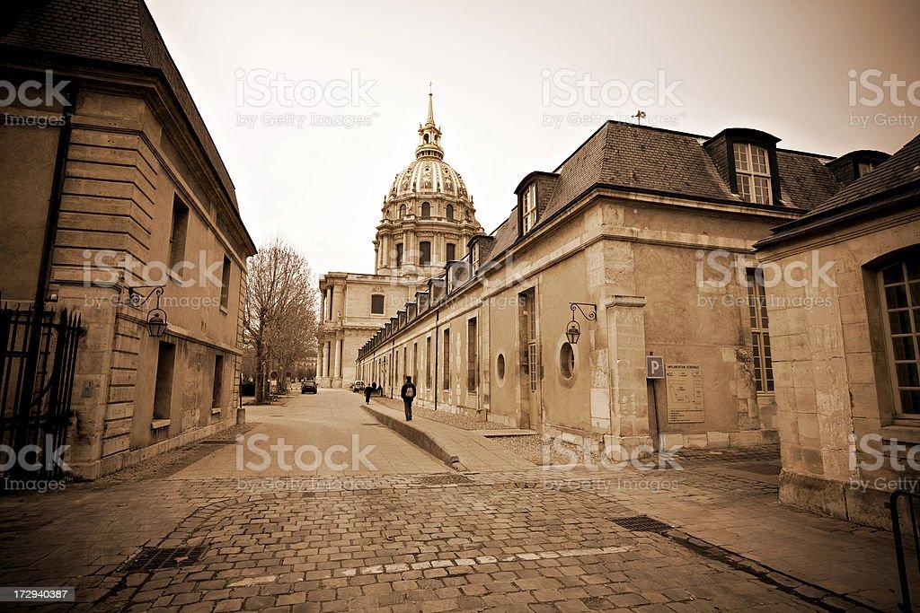 Iglesia De Los Invalidos Du Dome Paris Foto De Stock Y Mas Banco De