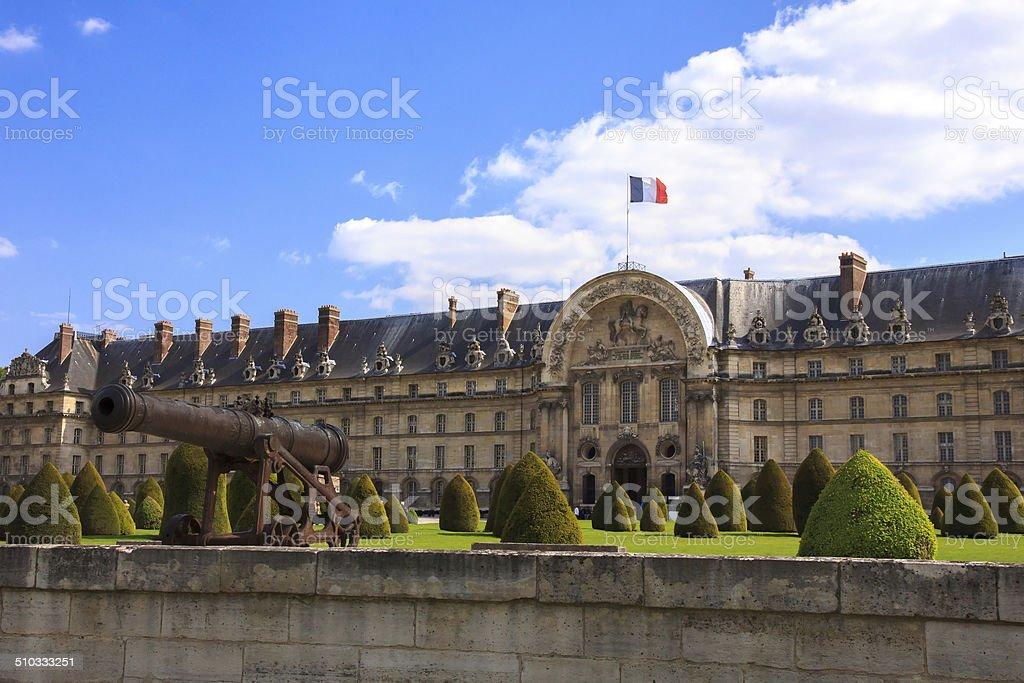 Les Invalides in Paris, stock photo