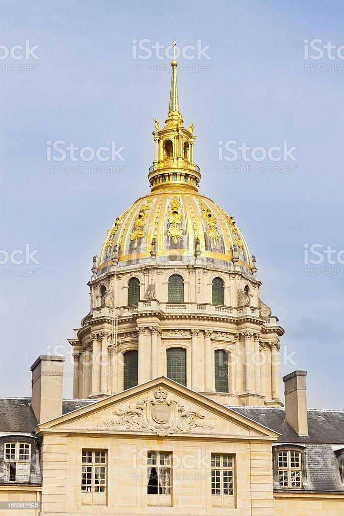 Les Invalides, Paris. stock photo