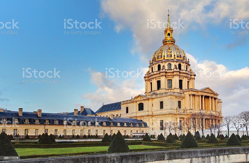 Les Invalides - Paris stock photo