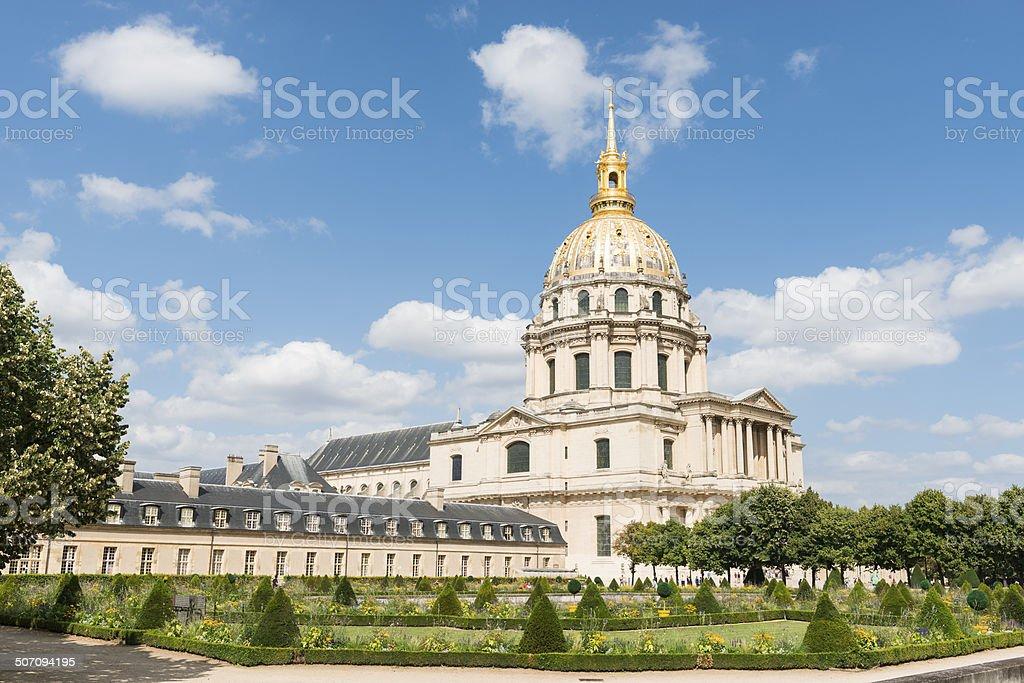 Les Invalides Paris stock photo