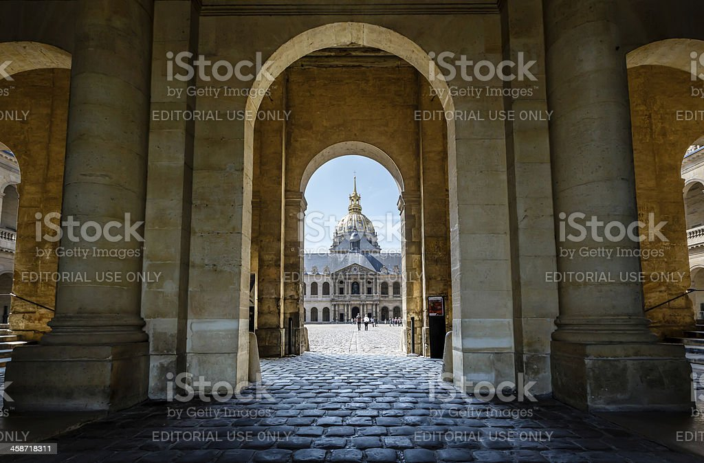 Les Invalides War History Museum in Paris, France stock photo