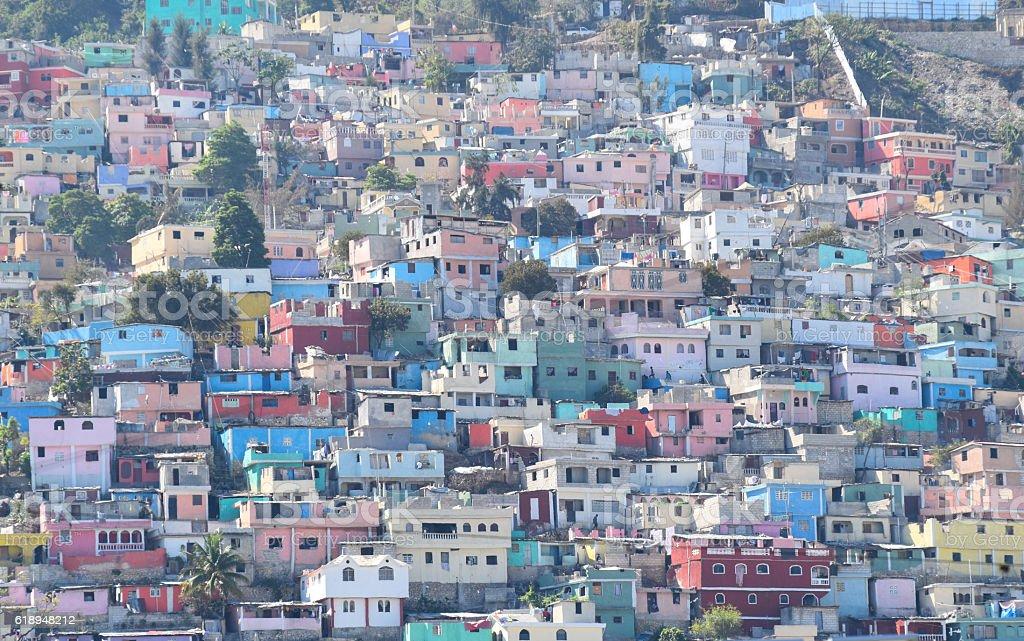 Les Jalousies Port-au-Prince stock photo